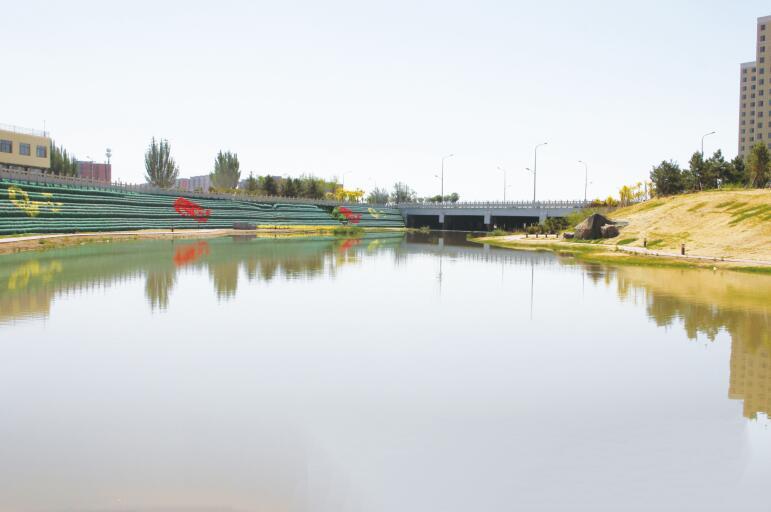 包头市水生态提升工程  二道沙河河道