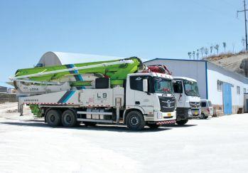 世辰混凝土泵送车